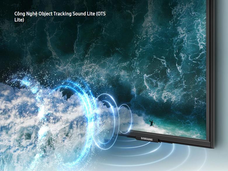 Smart Tivi Samsung 4K UHD 43 inch UA43AU9000KXXV   Chất lượng âm thanh đỉnh cao