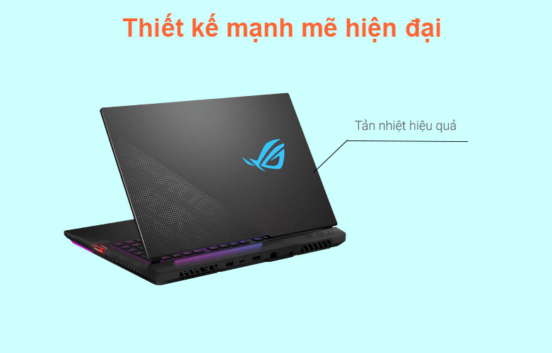 Laptop Asus ROG Strix Scar 15 G533QM-HF089T | Thiết kế mạnh mẽ