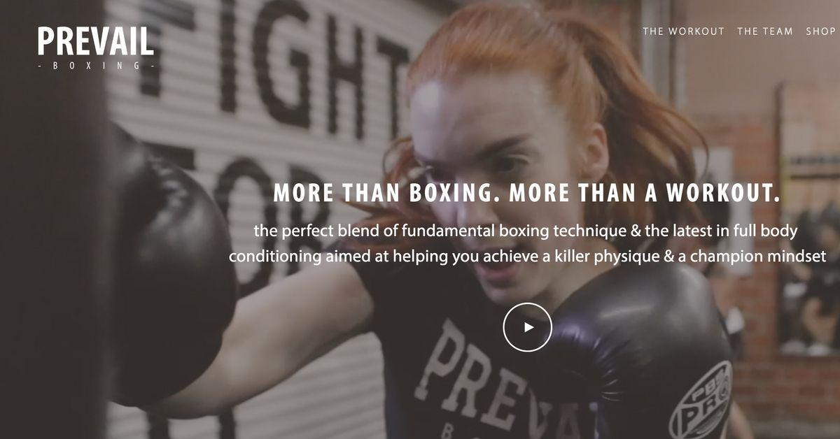 prevail boxing website