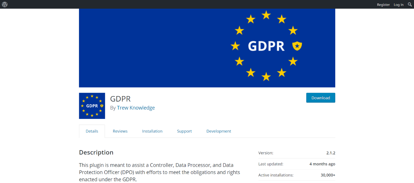 GDPR by Trew Knowledge