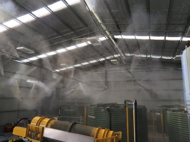 Máy phun sương công nghiệp có lưu lượng cao