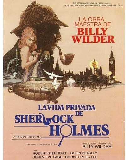 La vida privada de Sherlock Holmes (1970, Billy Wilder)