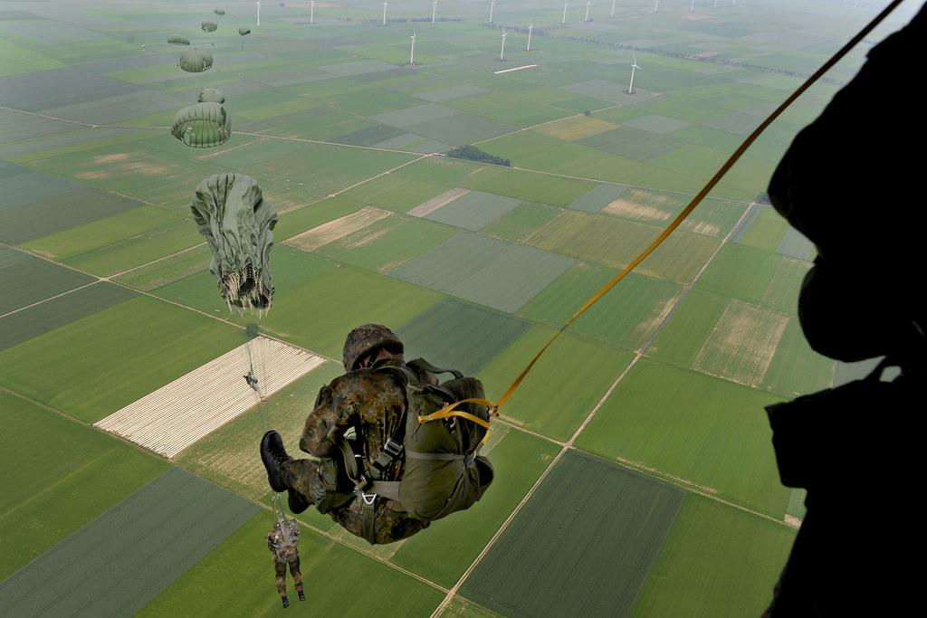 NATO jump | U.S. Soldiers and Airmen, as well as soldiers ...