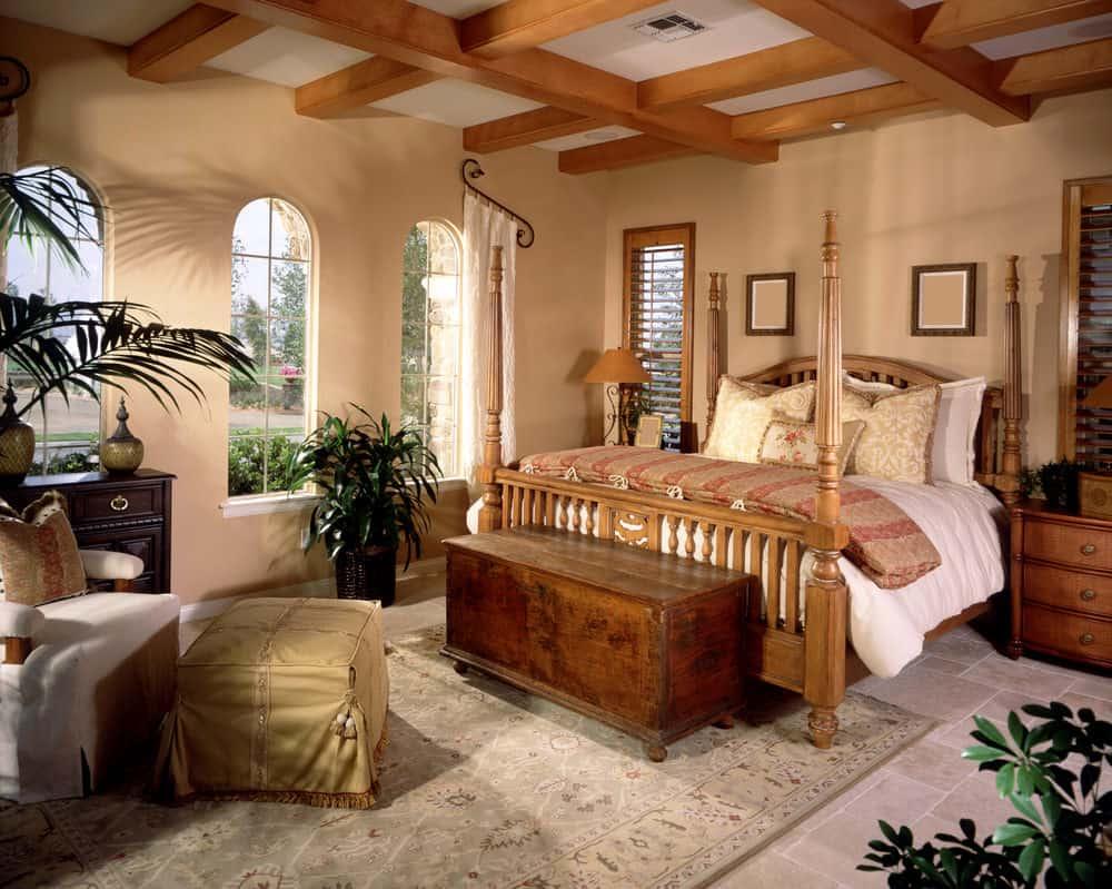 Classic Tuscan Bedroom Ideas