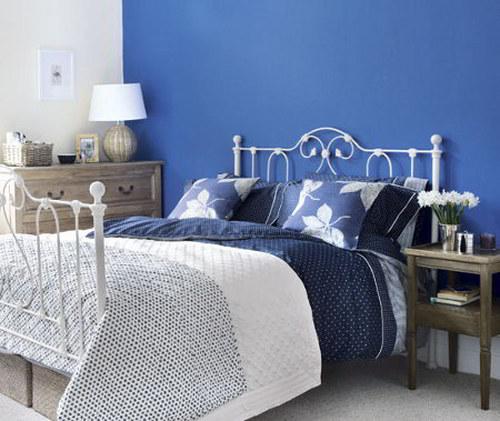 pintar dormitorio color azul significado