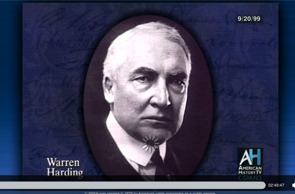 Billedresultat for warren g. harding donald trump