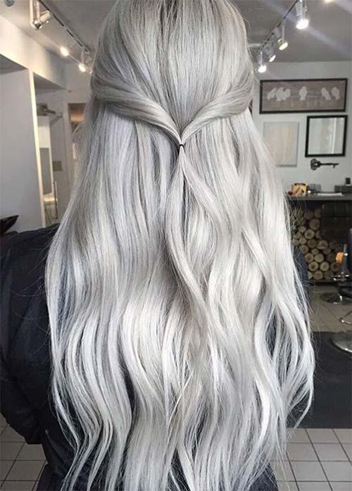 ezüst haj festése, ezüst színű hajfesték, ezüst haj készítése, ezüst szőke hajszín, ezüst, hajfesték használata, ezüst hajszínező, szürke haj készítése, ezüst szürke hajfesték.jpg