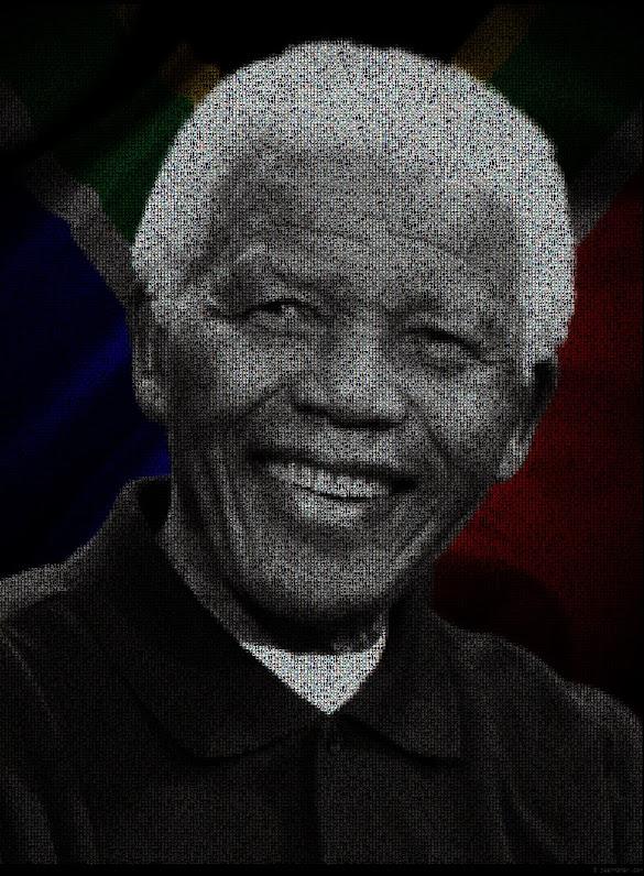 Illustration de Nelson Mandela par Jean Némar