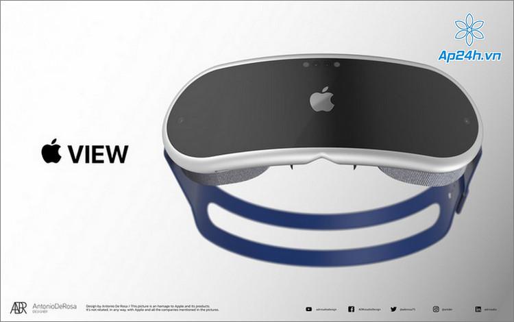Thiết kế dự đoán của kính thực tế ảo của Apple