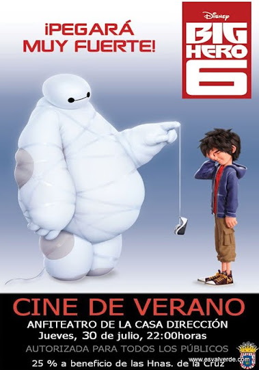 Big Hero 6 (30 julio)