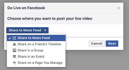 Streaming your Zoom meeting to Facebook