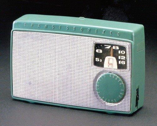 Rádio com transistor