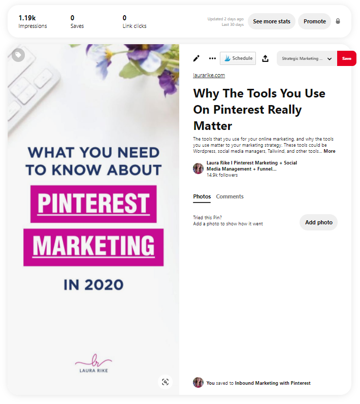 how to schedule posts on pinterest