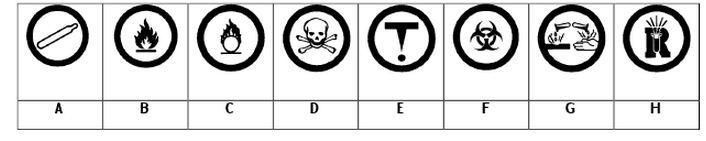 WHMIS and Safety Worksheet – Safety Symbols Worksheet