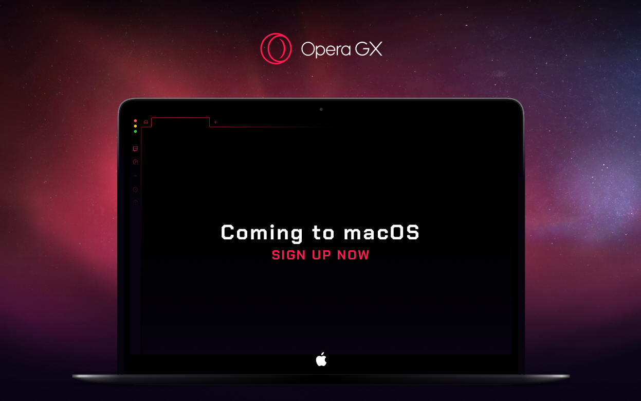 Opera GX - gaming browser will be available on Mac soon