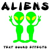 Aliens: Text Sound Effects