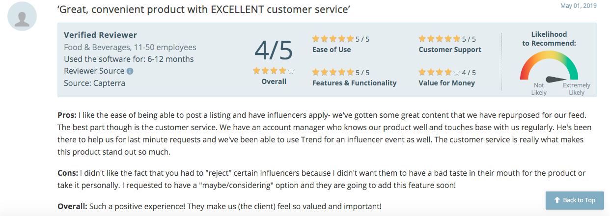AspireIQ Capterra Reviews