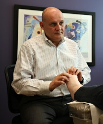 Dr. Laha - a foot specialist in Kansas City