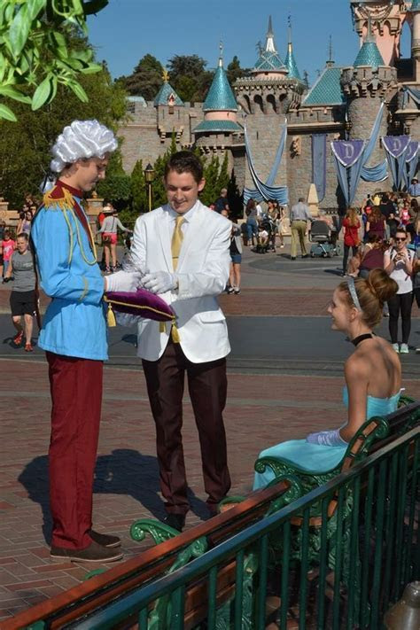 "He Pulled Off A Fairy Tale Proposal to His ""Cinderella"