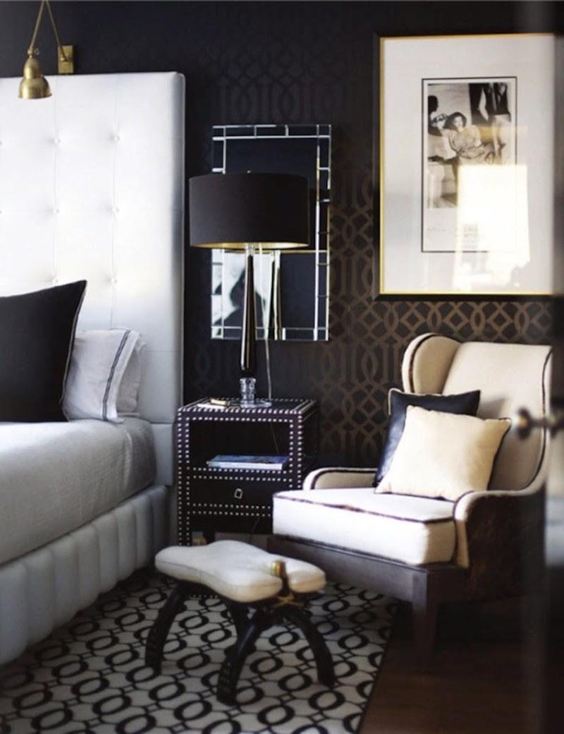 10 Sharp Black and White Bedroom Designs - Master Bedroom ...
