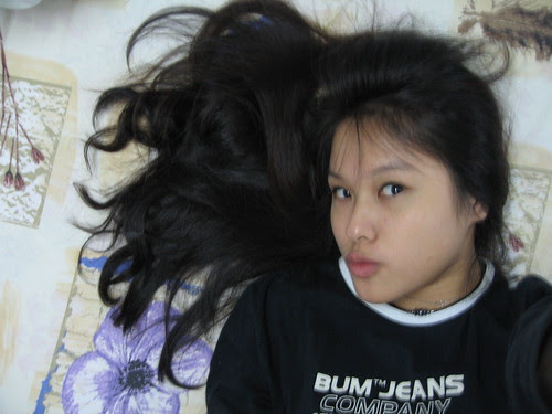 hair on bed