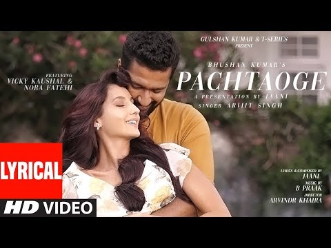 Pachtaoge Lyrics - Arijit Singh - LyricsPro