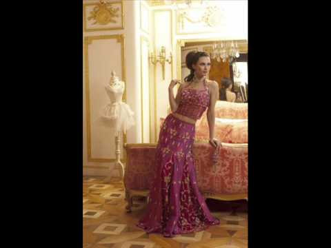 Indian Wedding Dresses Collection 20112012 wwwsanefashioncom wmv
