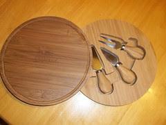 Freschetta bamboo wooden cutting board