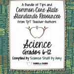 Common Core Science FREE Back-to-School ebook: Grades 6-12