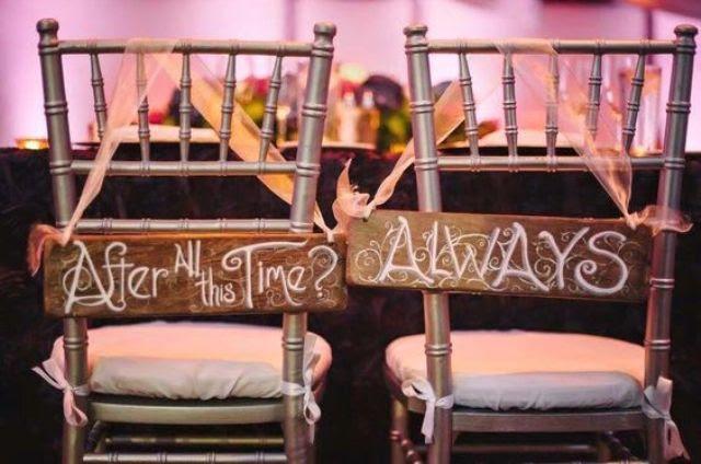 Harry Potter inspiriert Anzeichen für die paar Stühle sehen wow
