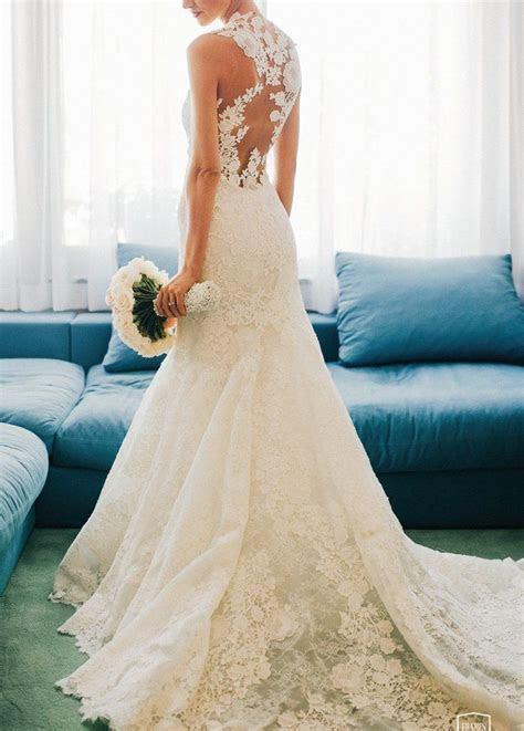 Die 25  besten Ideen zu Brautkleid spitze auf Pinterest