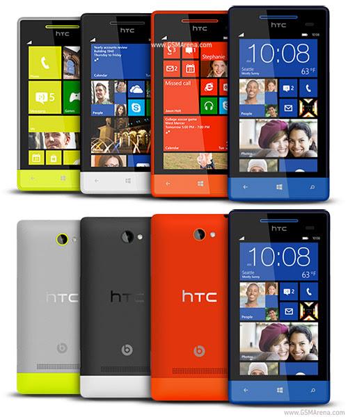 HTC 8S harga dan spesifikasi, gambar dan review lengkap hp wp8 htc 8s terbaru, posnel windows phone 8 murah fitur keren