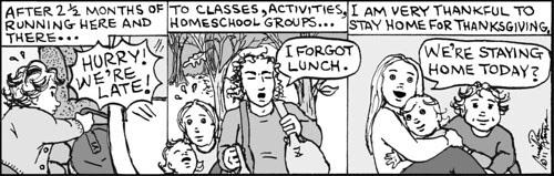 Home Spun comic strip #679