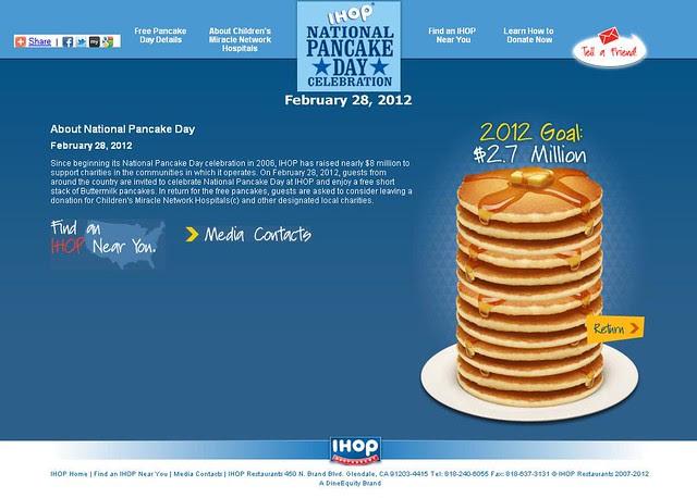 IHOP National Pancake Day - February 28, 2012 - Pancake Day Details_cr