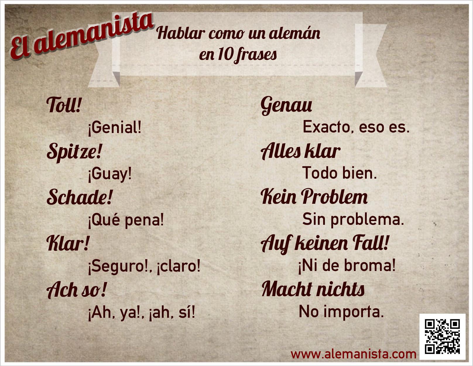 Hablar Como Un Aleman En 10 Frases El Alemanista
