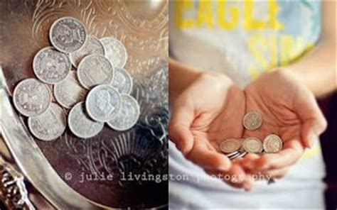Coins, Wedding and Vows on Pinterest