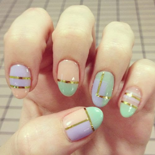 Pretty in pastels!