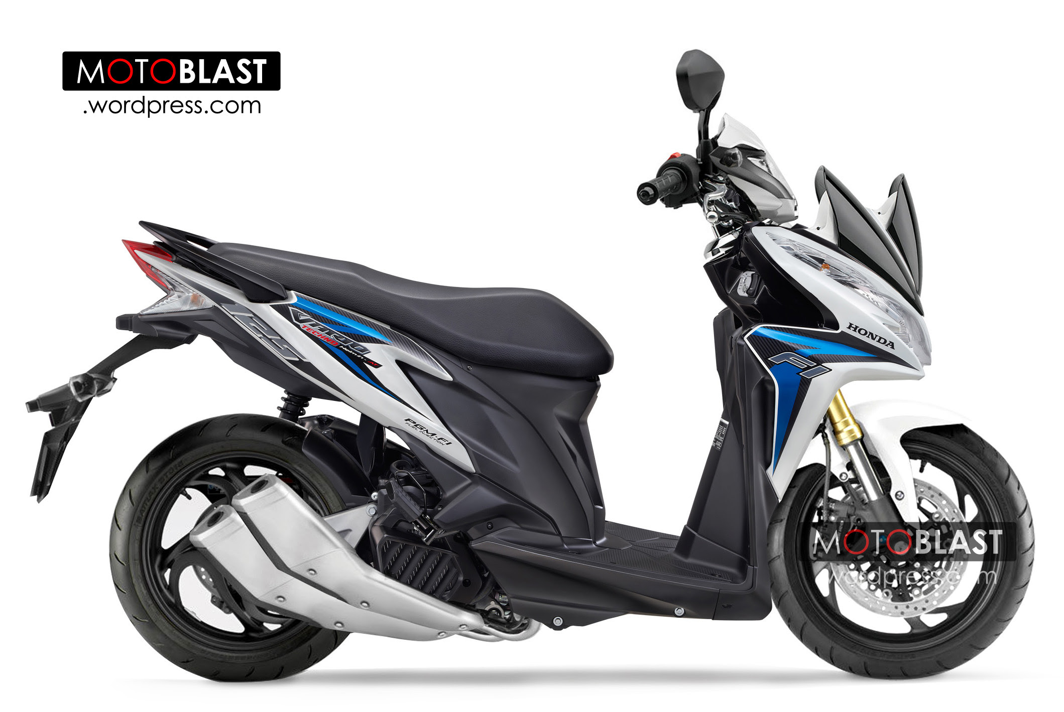 Modifikasi Vario Fighter Kumpulan Modifikasi Motor Vario