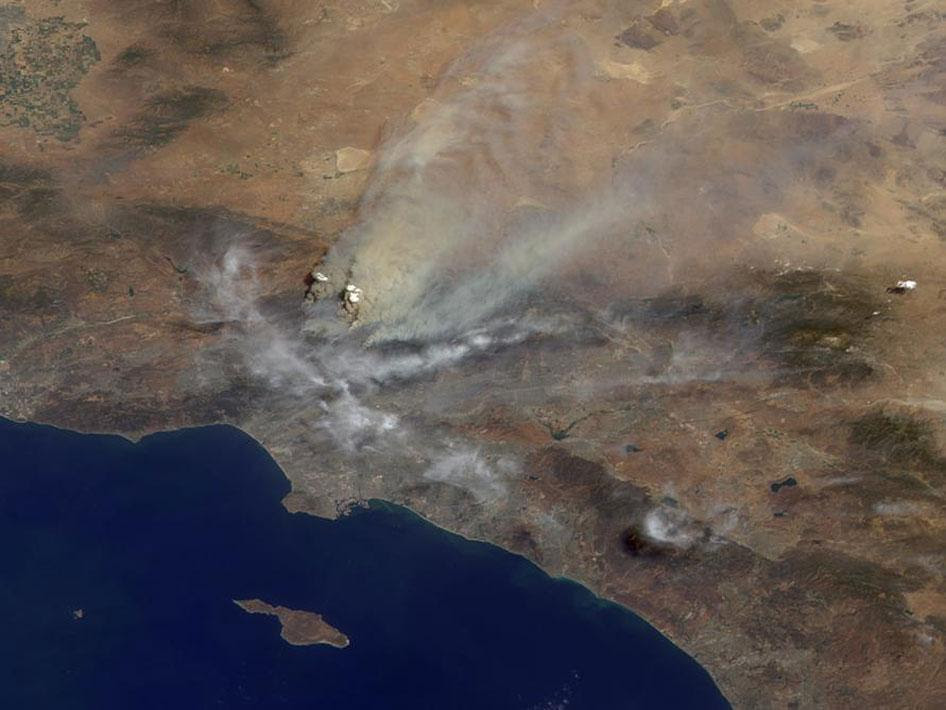 Fires in Los Angeles