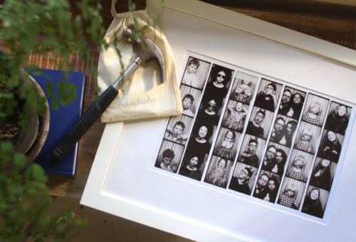 Framed Photo Booth Strips With Framebridge Design Mom