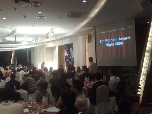 8th PC.com Awards Night in KL Tower