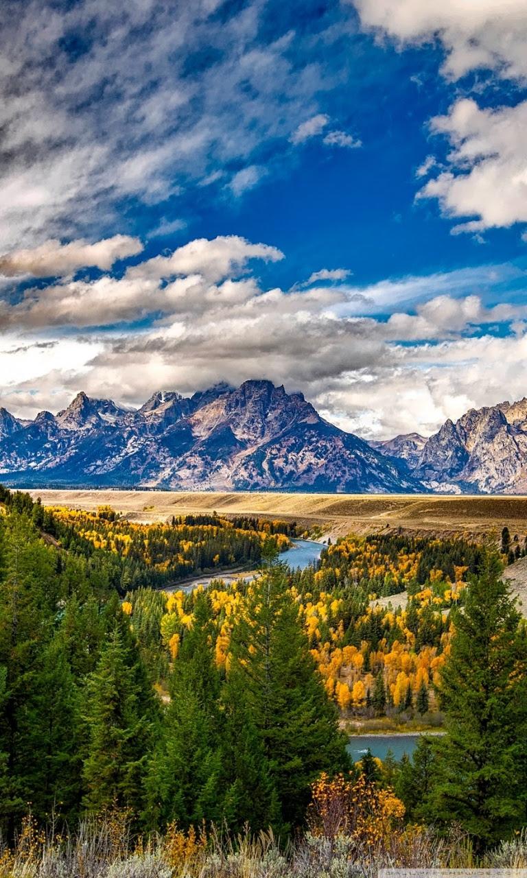 Grand Teton National Park Autumn Ultra Hd Desktop Background