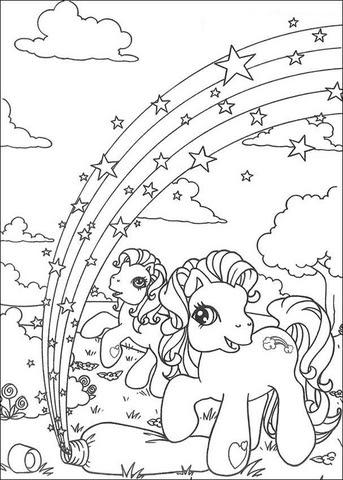 Disegno Di Mini Pony Da Colorare Disegni Da Colorare E Stampare Gratis