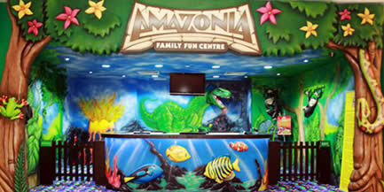 An Indoor Amusement Park in the Heart of Singapore; The Amazonia Singapore