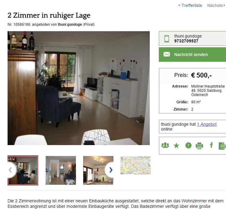 wohnungsbetrug.blogspot.com: thuni gundoge 9732709527 2 Zimmer in ruhiger Lage Müllner ...