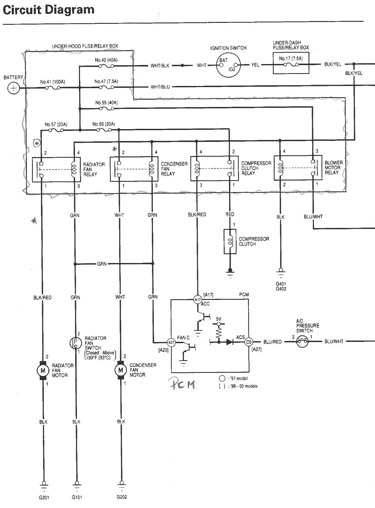 7ef 93 Honda Civic Stereo Wiring Diagram Wiring Library