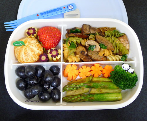 Four-Part Bento by sherimiya ♥