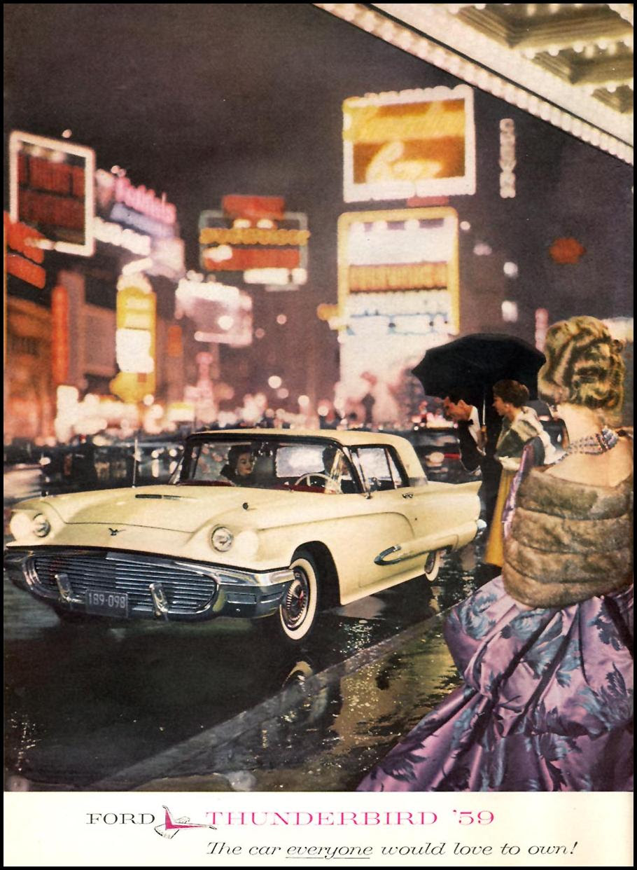 FORD AUTOMOBILES SPORTS ILLUSTRATED 05/11/1959