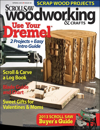 ... Credit Card Needed to Order Scroll Saw Woodworking & Crafts Magazine