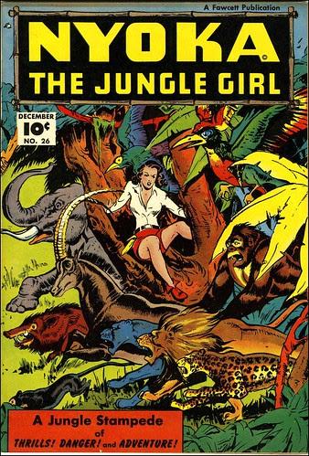 Nyoka the Jungle Girl #26